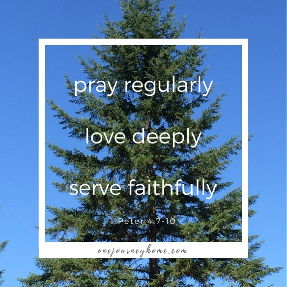 pray regularly